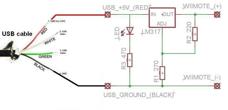 usb powered wiimote numca gr stergios dimou sakellariou rh numca gr usb power cable schematic usb power schematic diagram